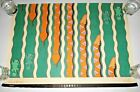 VTG Rex Peteet Poster Made In The Shade Sequences Graphic Art Lizards Snakes 80s