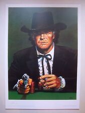 Affiche - Poster, MISTER BLUEBERRY ,50X70 ,100 ex  HC & Sig / GIRAUD ,1996 ,Neuf