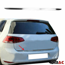 Fits VW Golf Mk7 2015-2019 Brushed Chrome Tailgate Trunk Moulding Trim S.Steel