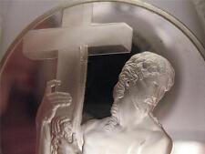1.3-OZ.925 SILVER COIN (RISEN CHRIST) SISTINE CHAPEL GENIUS OF MICHELANGELO+GOLD