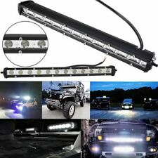 "1pc 13"" 36W  LED Light Bar Ultra Slim Spot Work Driving Lamp Off-road Jeep Truck"