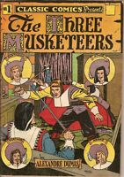 """Classic Comics """"The Three Musketeers"""" by Alexandre Dumas"""
