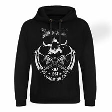 Officially Licensed Sons of Anarchy - SOA 1967 Skull Epic Hoodie S-XXL Sizes