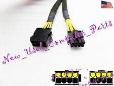 "➨➨➨ 8"" 8-Pin Female ATX 12v-EPS PSU Sleeved Power Supply Extension Cable ➨➨➨"
