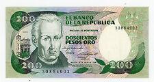 Colombia … P-429a … 200 Pesos … 4.7.1984 … *UNC*