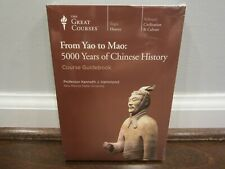 THE GREAT COURSES From Yao to Mao: 5000 Years of Chinese History   DVD    SEALED