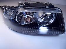 Scheinwerfer Audi A3 8L Xenon Optik Linse für Bj.2001-2003 Schwarz europaw.zugel