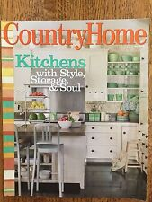Country Home Magazine MAY 2008 KITCHENS WITH STLE,STORAGE,SOUL  FREE SHIPPING