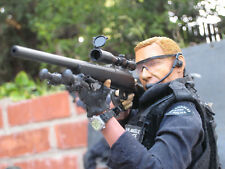 1/6 Sniper LAPD SWAT Police Custom DiD BBI Driver Denver Very Hot Toys M700