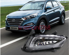 For HYUNDAI TUCSON 2016 2017 LED Daytime Day Fog Lights DRL Run lamp New