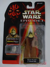 1998 Star Wars Episode I Boss Nass With Gungan Staff Commtech Chip Action Figure