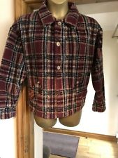 Mens Fat Face Unique Lumberjack Style Fleece/Jacket Great Condition Size Small