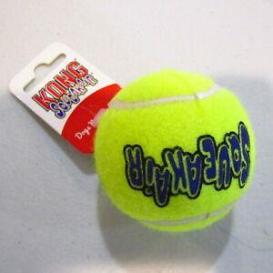 "KONG Sqeakair Tennis Ball 8"" Circumference Durable Squeaking Fetch Toy"