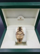 Rolex Day-Date President 36 MM 18K Yellow Gold Champagne 18238 w/Box  LussoTime