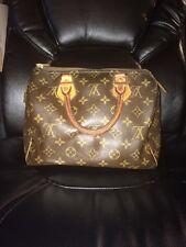 Louis Vuitton Authentic Speedy 25 Monogram Handbag