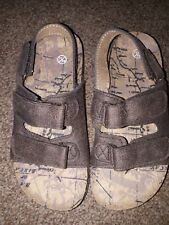 Boys Brown Sandals, Size 11, New