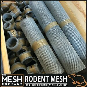 RatMesh Rodent Proofing Wire Metal Mesh Blocks Rats & Rodents-BARGAIN SHORT ROLL