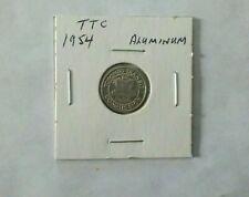 Toronto Transit Commision 1954 Subway Token (Aluminium) Type #1