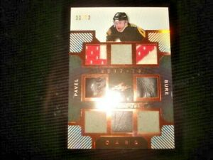 17/18 Leaf Ultimate Pavel Bure THE CARD Jersey Patch Skate /12 WOW !