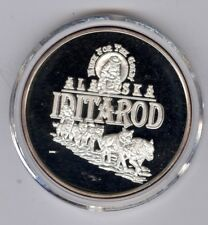 ALASKA MINT MUSH FOR THE GOLD ALASKA STATE SILVER MEDALLION 1 OZ. - NO DATE