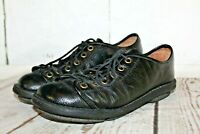 Trippen Lace Up Shoes Black Leather Oxford Sneakers Women's Size 41/ US 10.5-11