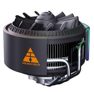 4 Heat Pipe CPU Fan Heatsink Coolers Silent Intel LGA 775 115X 1366 1200 AMD FM2
