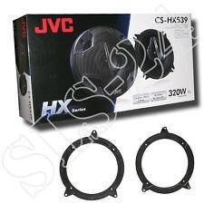 JVC 3-Wege Lautsprecher 320W BMW 3er E46 Lautsprecherringe Tür + LSP Adapter Set