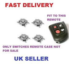 Jaguar X S XJ XK TYPE Remote Key fob 4 Button Repair refurbishment kit  switches