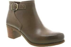 Dansko Henley Taupe Burnished Women's Ankle Boots - NEW - Size EU 41