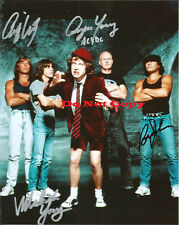 SIGNED ACDC signed autographed 8x10 photo - RP