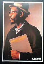 LINTON KWESI JOHNSON * 1991 ORIGINAL ISLAND RECORDS POSTER*  POP REGGAE SKA RARE