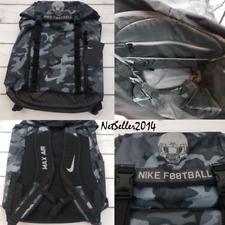 61db37f99fef7b COOL 🆕🔥🏈 Nike Max Air Top Fill Football Backpack Bag Camo Grey Gym