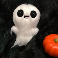 Ghost Plush Toy - Art Toys - Halloween Decorations - Kawaii Plushie