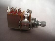 Potentiometer-Alpha A500K Audio Push Pull Switch Knurled Shaft-FAST USA SHIPPING