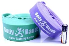 Body-Bands Pull Up Assist Band Set #2 (Set of 2) | 41-inch Loop Resistance Bands