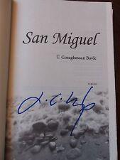T. C. Boyle, SAN MIGUEL A Novel *SIGNED* HBDJ 1ST/1ST BRAND NEW
