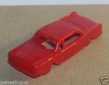 RARE MINI IMPALA HO 1/87 MADE MEXICO CHRYSLER 300 ROUGE