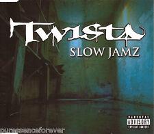 TWISTA - Slow Jamz (ft KANYE WEST & JAMIE FOXX) (UK 2 Tk CD Single)
