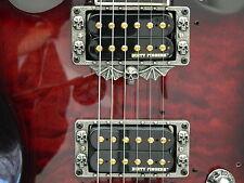 SKULL PICKUP RINGS fits BC RICH beast kerry king v kkv 2 guitar HAND MADE METAL!