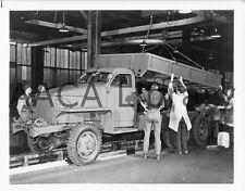 1940 Studebaker K16 U.S. Army Dumper, Dump Truck, Factory Photo (Ref. #78062)