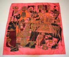 Écharpes et châles foulard rose pour femme, en 100% soie