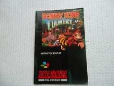 Notice Super nintendo / Snes manuel Donkey Kong Country PAL original Booklet *