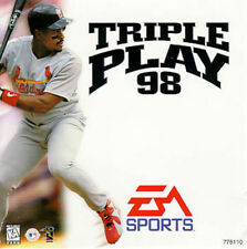 TRIPLE PLAY 98   ( JEUX PLAYSTATION 1 ) COMPLET -- CIB
