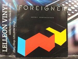Foreigner Agent Provocateur LP Album Vinyl Record 781999 Rock 80's +Lyric Insert