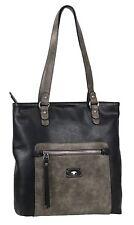 Shopper Tasche von TOM TAILOR Ella Schultertasche Marken Handtasche Schwarz