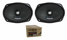 "Pair of PRV Audio 6x9"" 1000W Mid Range Bullet Loudspeaker 4 Ohm 69MR500-4 BULLET"