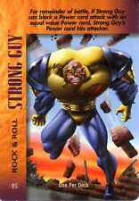 CCG Marvel DC Image OverPower Strong Guy 4-Grid Character Card Ungraded