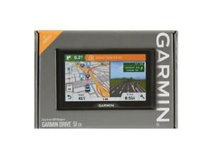 """Garmin Drive 51 EX Vehicle GPS with 5"""" Screen and US Lifetime Maps NEW"""