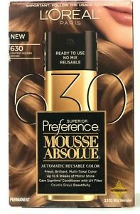 L'Oreal Paris Superior Preference Mousse Absolue 630 Lightest Golden Brown
