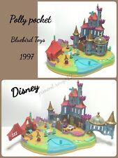 """Polly Pocket 1997 Disney Bluebird """"Le Château Magique de la Belle et la Bête"""""""